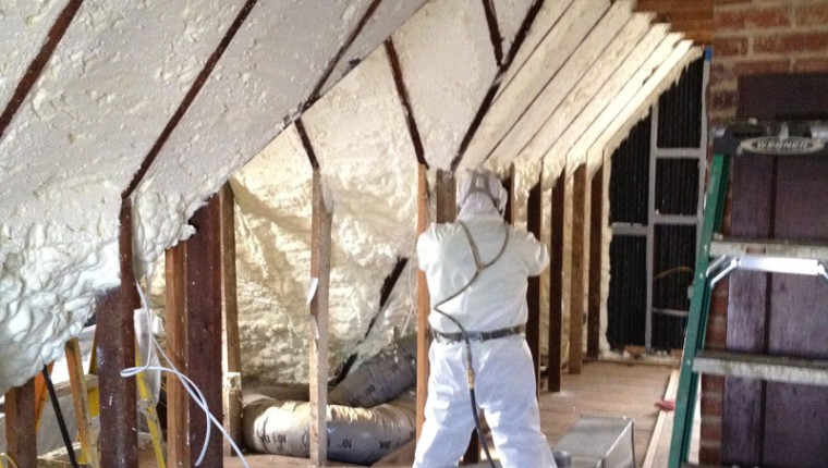 Baltimore Spray Foam Attic Retrofit